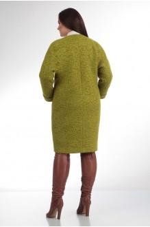 Пальто Надин-Н 1308 (1) горчица фото 2