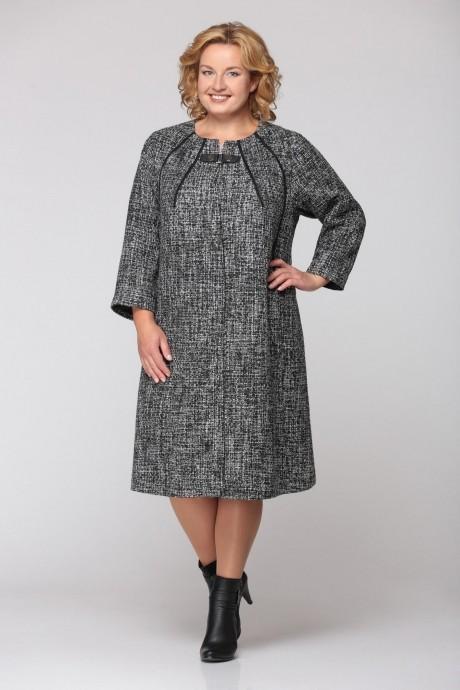 Пальто Надин-Н 1312 серый