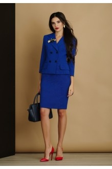 Юбочный костюм /комплект Lissana 2905 (1) василёк фото 2