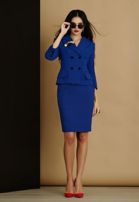 Юбочный костюм /комплект Lissana 2905 (1) василёк
