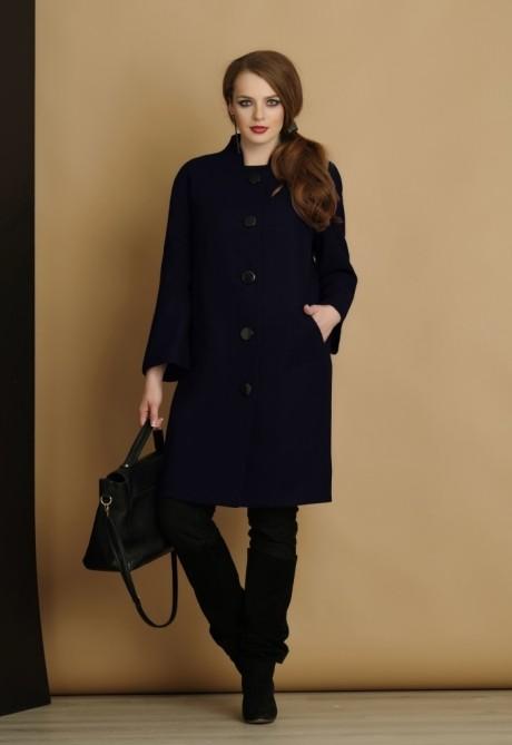 Пальто Lissana 2916 темно-синий