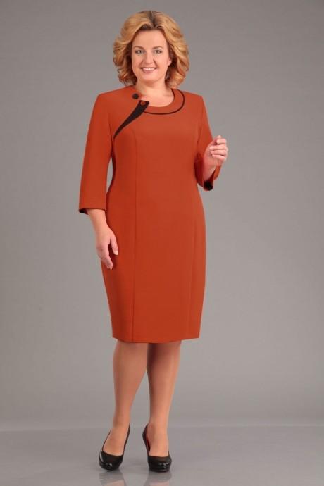 Деловое платье Асолия 2298 терракотовый