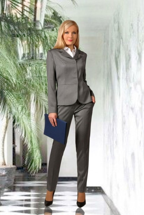 Брючный костюм /комплект МиА-Мода 748