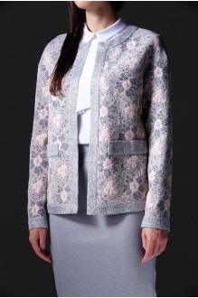 Юбочный костюм /комплект Nova Line 1613.3385 Розовый/Серый фото 2