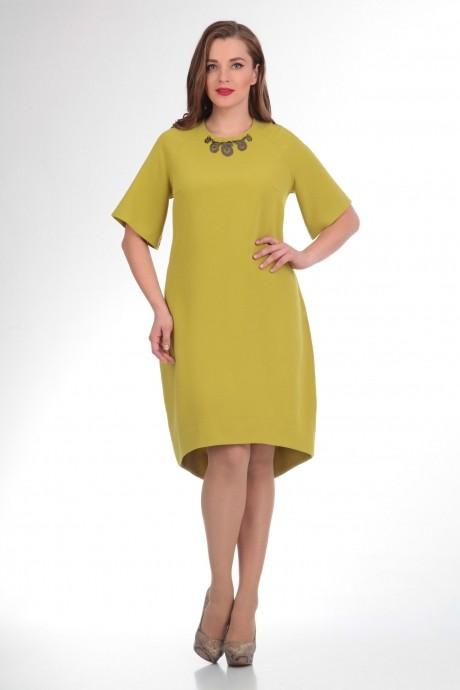 Повседневное платье Надин-Н 1327 горчица