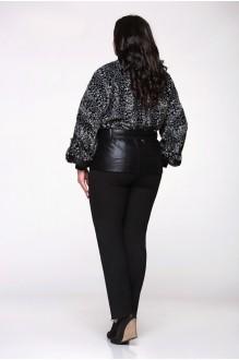 Куртка Надин-Н 1025 (3) чёрный/белый фото 2