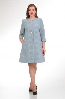Пальто Надин-Н 1330 голубой фото 1
