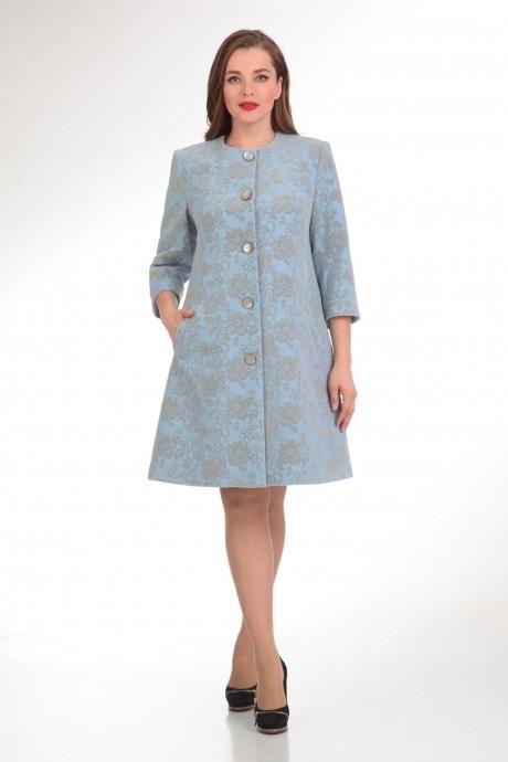Пальто Надин-Н 1330 голубой