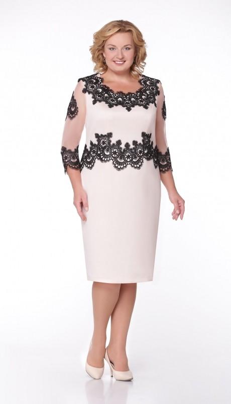 Вечернее платье Aira Style 508 персик