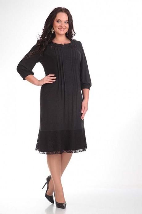 Повседневное платье Мублиз 889 графит