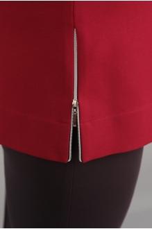 Блузки и туники Джерза 0107 красный фото 2