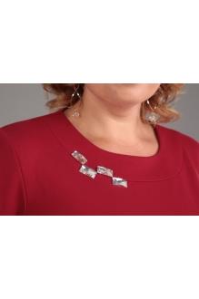 Блузки и туники Джерза 0107 красный фото 3