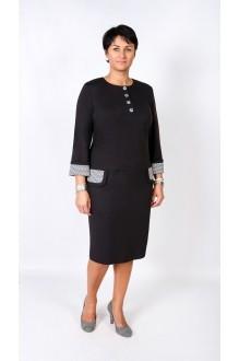 Повседневное платье TricoTex Style 1621 черный фото 1
