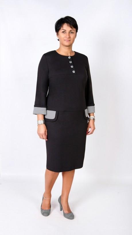 Повседневное платье TricoTex Style 1621 черный