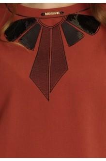 Юбочный костюм /комплект Lissana 2913 терракот/черный фото 5