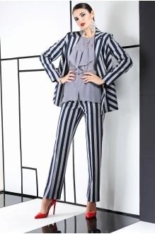 Брючный костюм /комплект ЛаКона 981 полоска фото 2