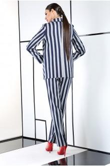 Брючный костюм /комплект ЛаКона 981 полоска фото 3