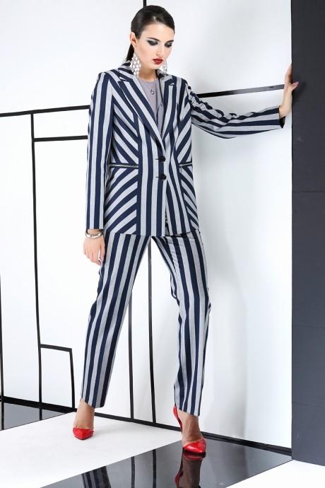 Брючный костюм /комплект ЛаКона 981 полоска
