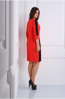 Деловое платье Matini 3.996 красный фото 2