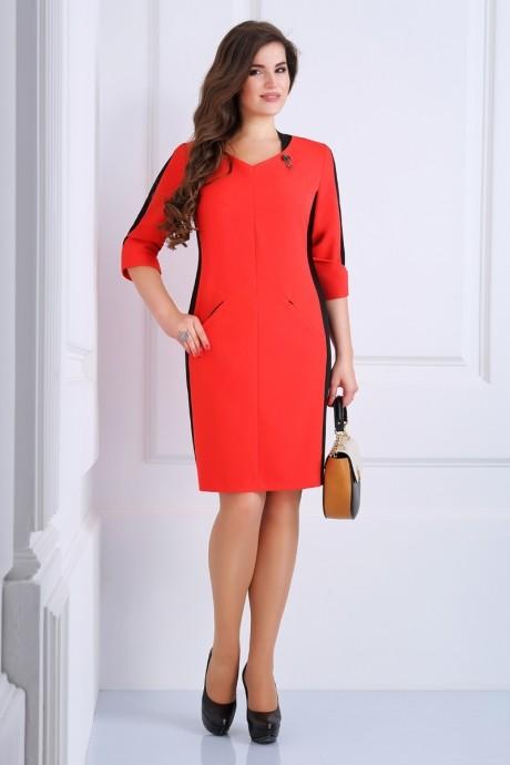 Деловое платье Matini 3.996 красный