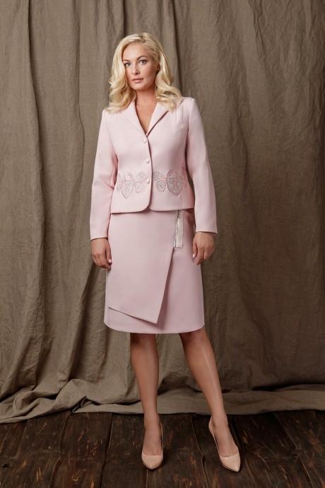 Юбочный костюм /комплект Prestige 2907 розовый