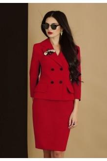 Юбочный костюм /комплект Lissana 2905 коралл фото 3
