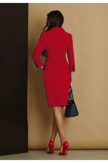 Юбочные костюмы /комплекты Lissana 2905/1 красно-коралловый фото 3