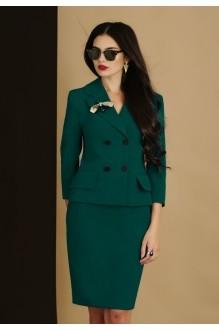 Юбочный костюм /комплект Lissana 2905 зеленый фото 3