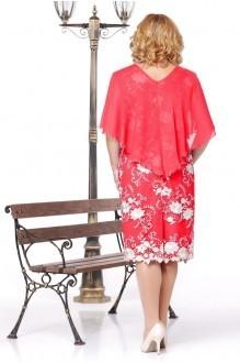 Вечерние платья Нинель Шик 237 красный фото 2