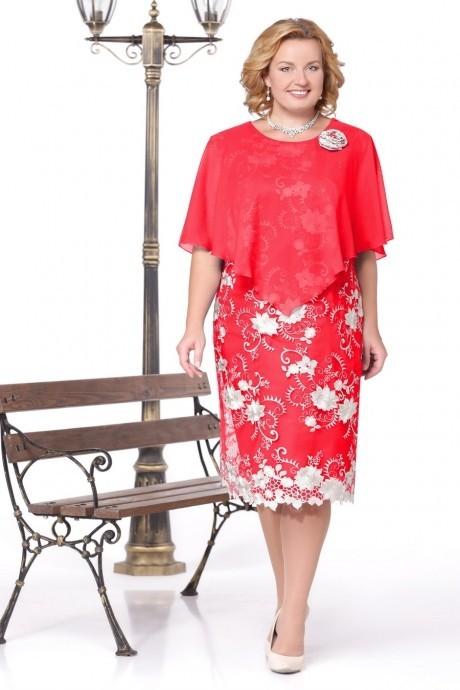 Вечерние платья Нинель Шик 237 красный