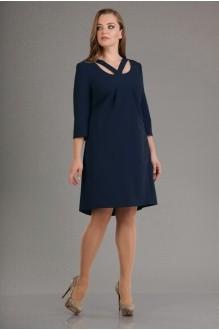 Вечернее платье Лиона-Стиль 555 т.синий фото 1