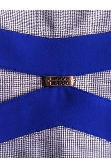Повседневное платье Лиона-Стиль 556 с синими вставками фото 2