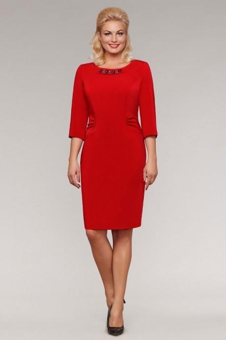 Вечернее платье Teffi Style 911 красный
