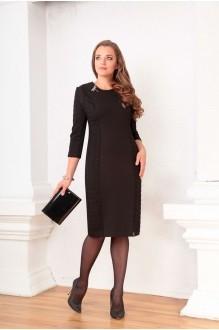 Деловое платье Ksenia Stylе 1334 черный фото 1