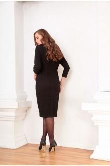 Деловое платье Ksenia Stylе 1334 черный фото 2