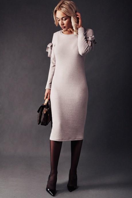 Повседневное платье Beauty 1870 бежевый