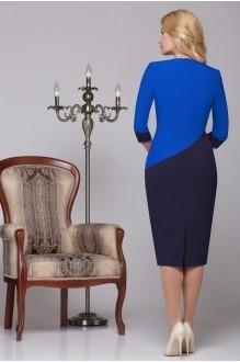 Вечерние платья Нинель Шик 5459 василек/синий фото 2