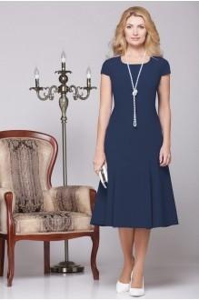 Вечернее платье Нинель Шик 5455 темно-синий фото 2