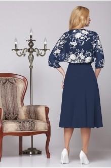 Вечернее платье Нинель Шик 5455 темно-синий фото 3