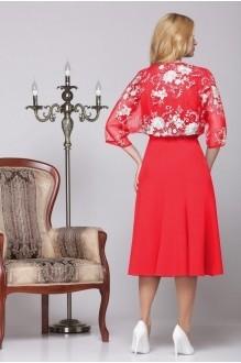 Вечернее платье Нинель Шик 5455 красный фото 2