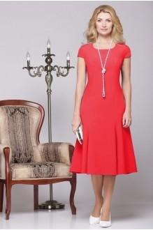Вечернее платье Нинель Шик 5455 красный фото 3