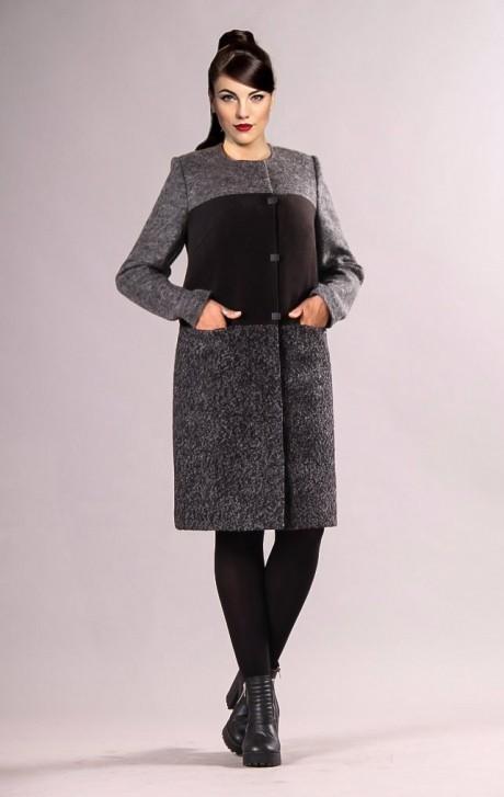 Пальто Runella 1211 серый