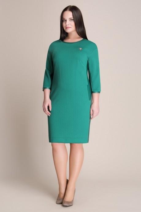Повседневное платье Магия Моды 937 зелень