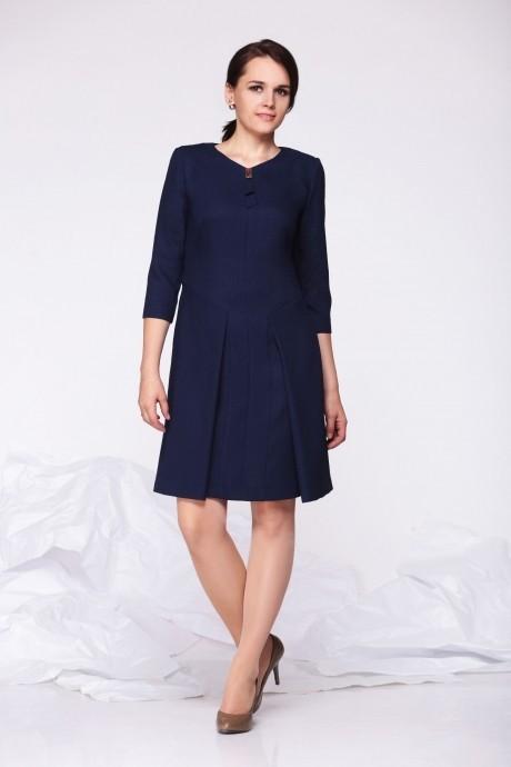 Деловые платья Golden Vallеy 4287 синий