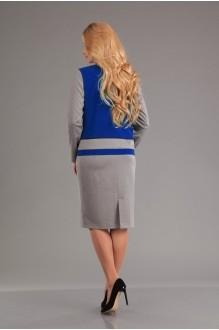 Юбочный костюм /комплект Лиона-Стиль 558 василёк фото 2