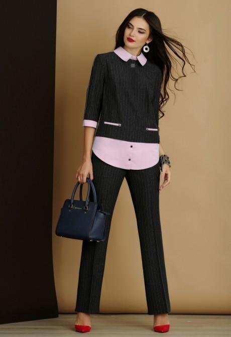 Брючный костюм /комплект Lissana 2915-1 розовый