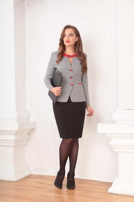 Юбочный костюм /комплект Ksenia Stylе 1335