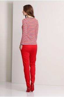 Брючный костюм /комплект Эола-стиль 1244 красный фото 3