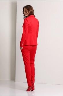 Брючный костюм /комплект Эола-стиль 1244 красный фото 4