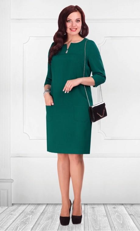 Деловое платье Camelia 1681 зеленый